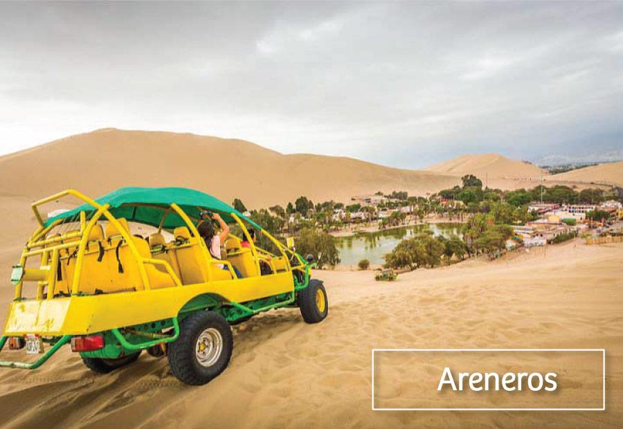 Carros Areneros Huacachina